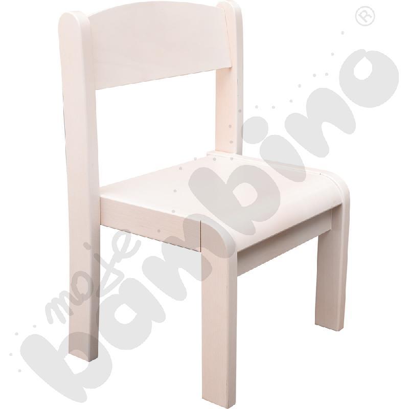 Krzesło Filipek bielone