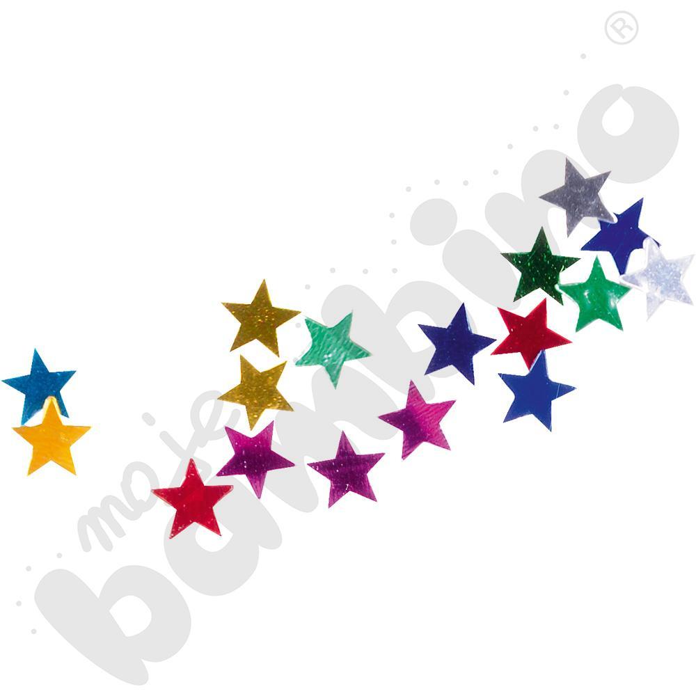 Konfetti małe gwiazdki