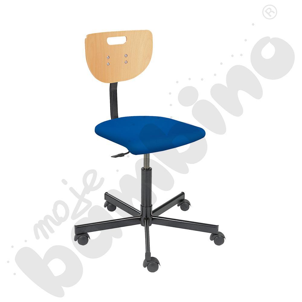 Krzesło Verek black seat plus