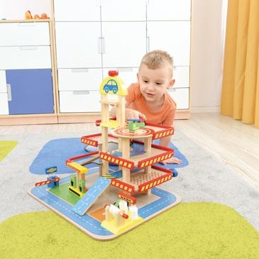 Zabawki, klocki do przedszkola