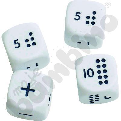 Kostki matematyczne Numicon