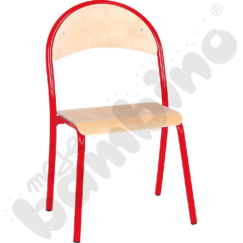 Krzesło P rozm. 2 czerwone
