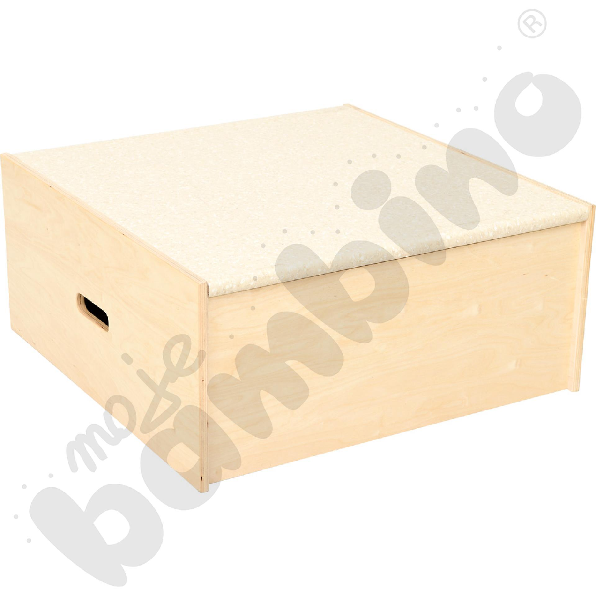 Podest kwadrat, wys. 30 cm...