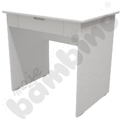 Quadro - biurko z szeroką...