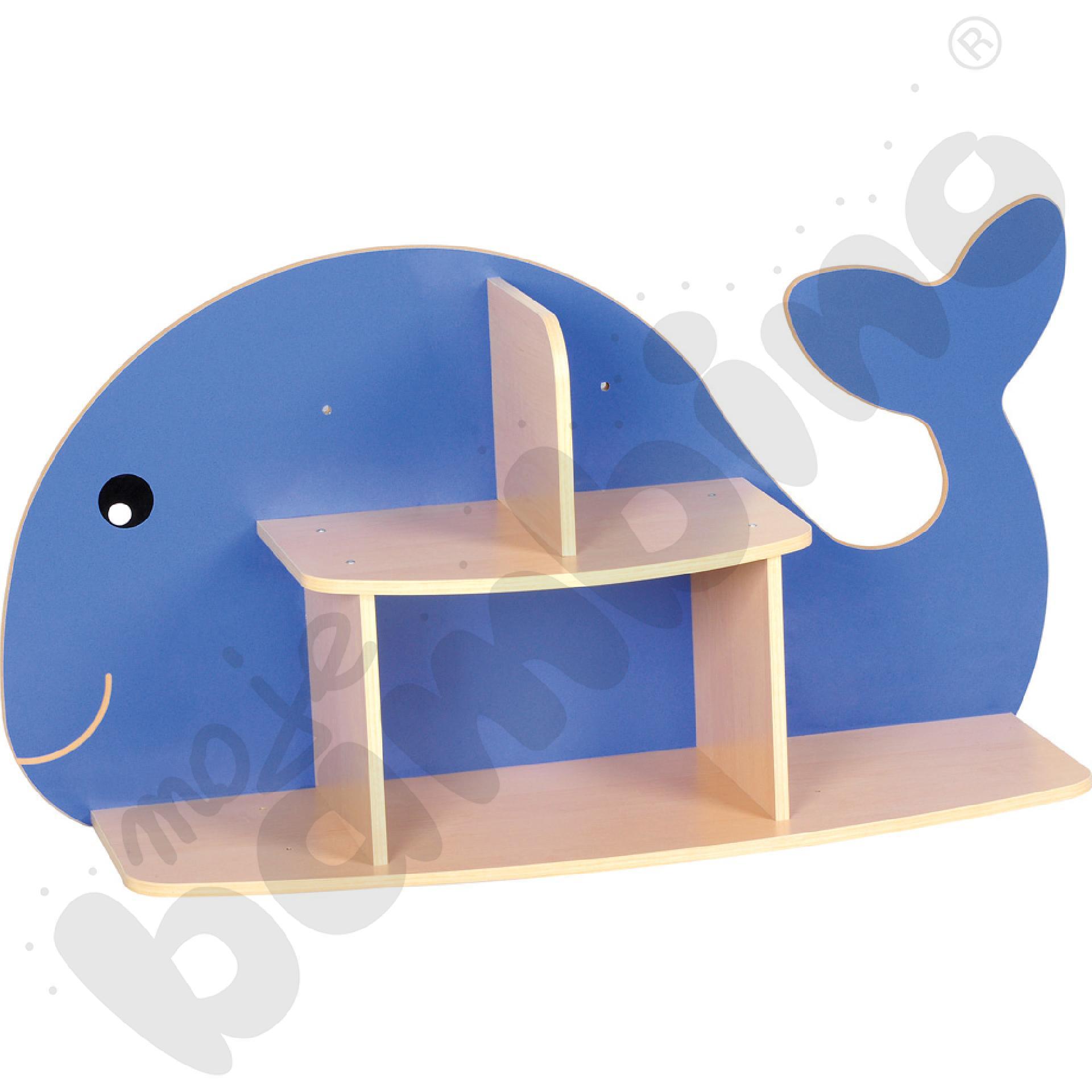 Półka wisząca Wieloryb