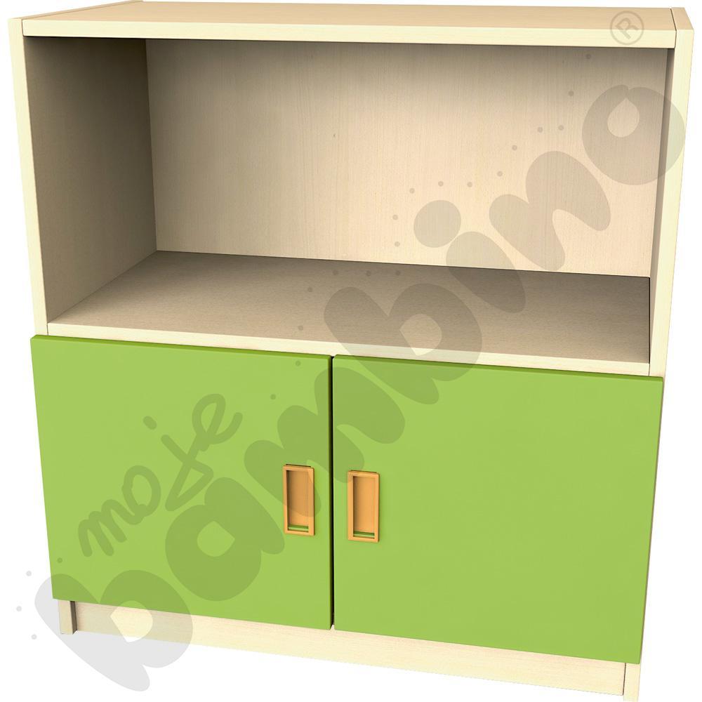 Drzwi małe do regału - zielone