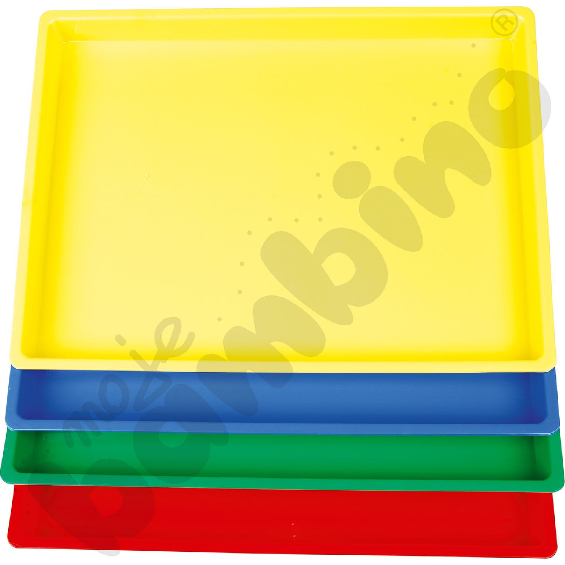 Kolorowe tace
