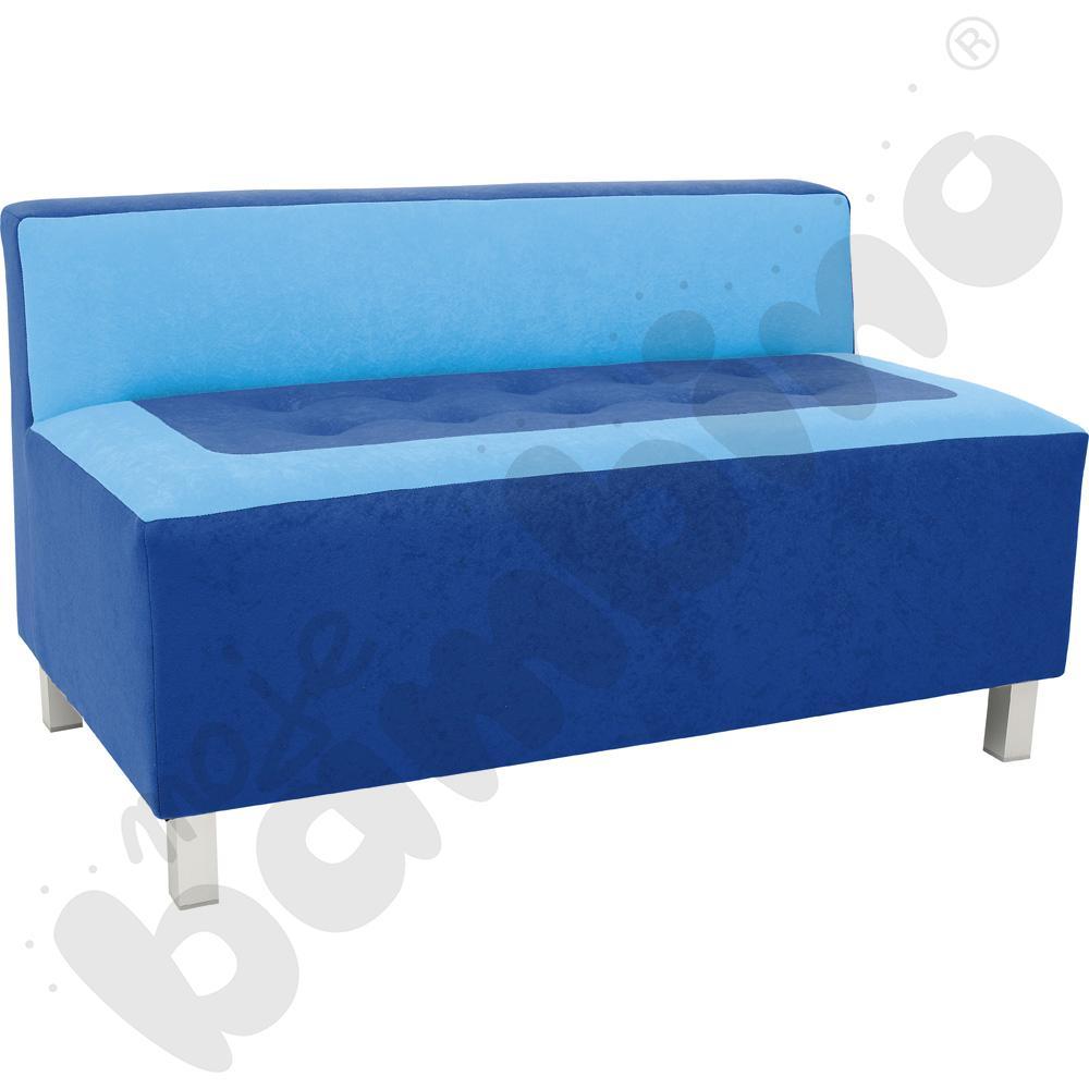 Kanapa Premium niebieska