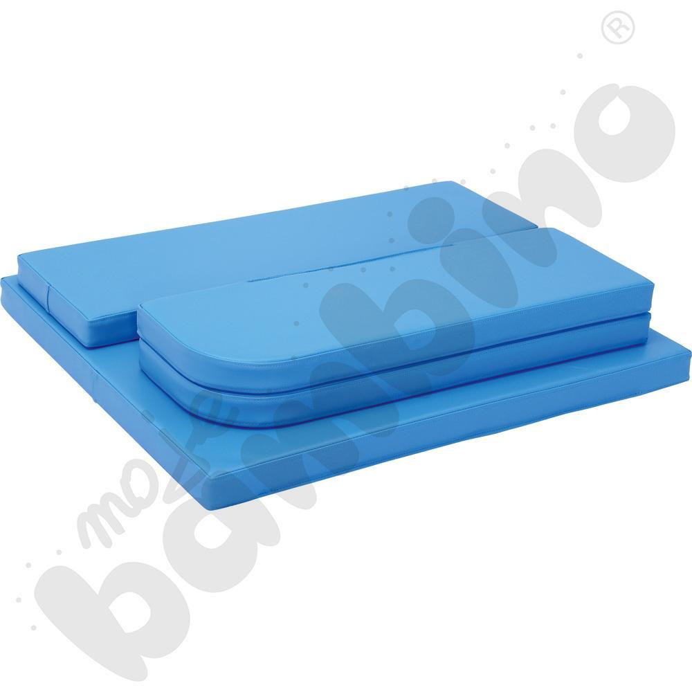 Materac do przewijaka z szufladami i półkami
