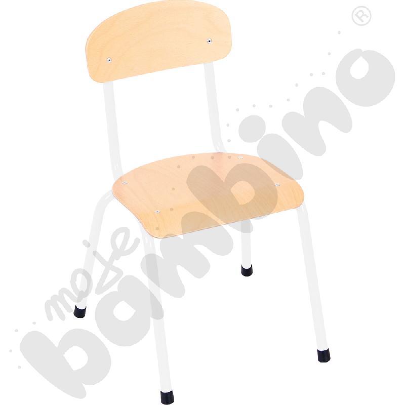 Krzesło Bambino rozm. 2 białe