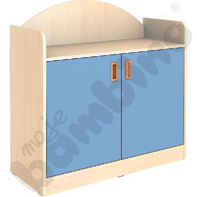 SANLANDIA szafka dwudrzwiowa z 2 półkami