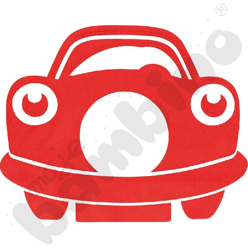 Osłonka pod gniazdko - czerwone autko