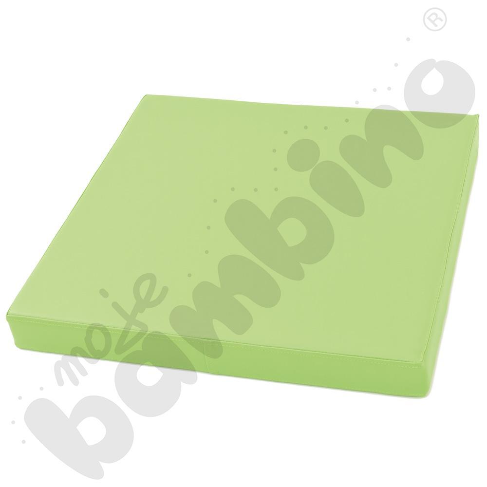 Materac kwadratowy - zielony