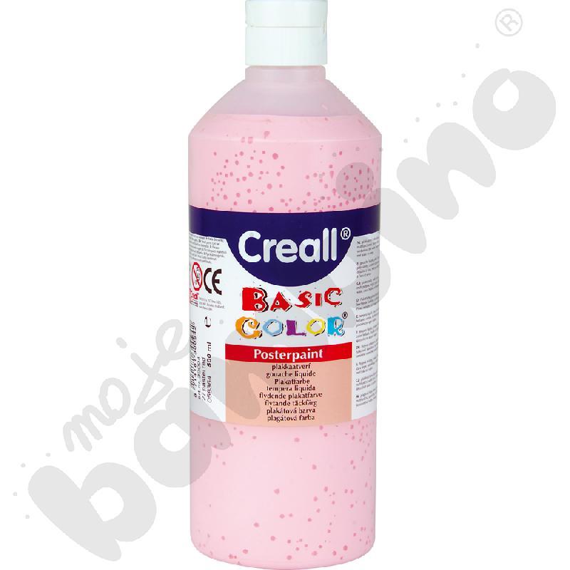 Tempera pastelowa różowa