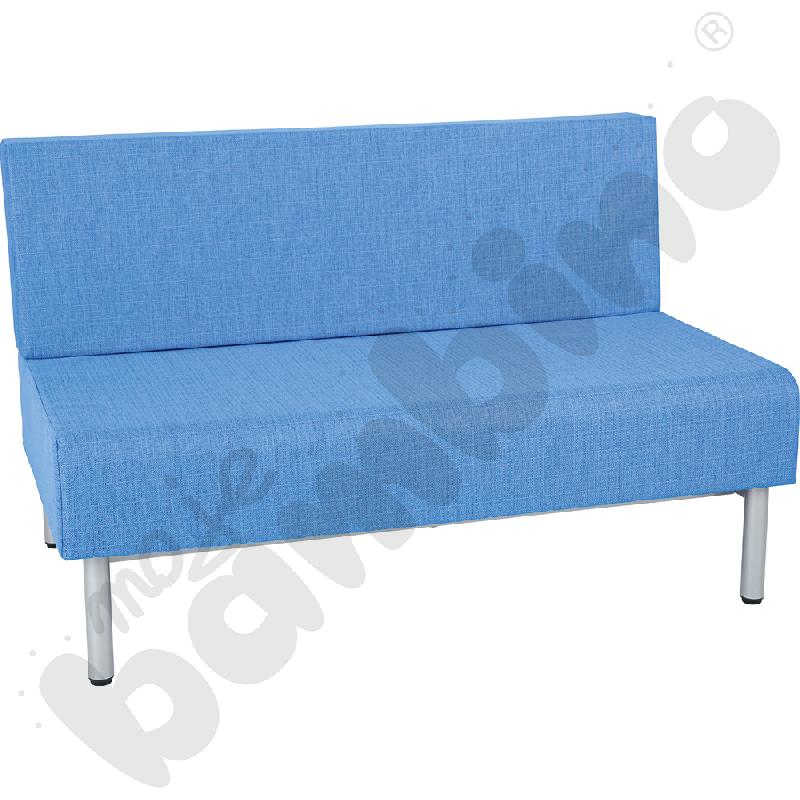 Fotel Inflamea 1, 2 os. - jasnoniebieski