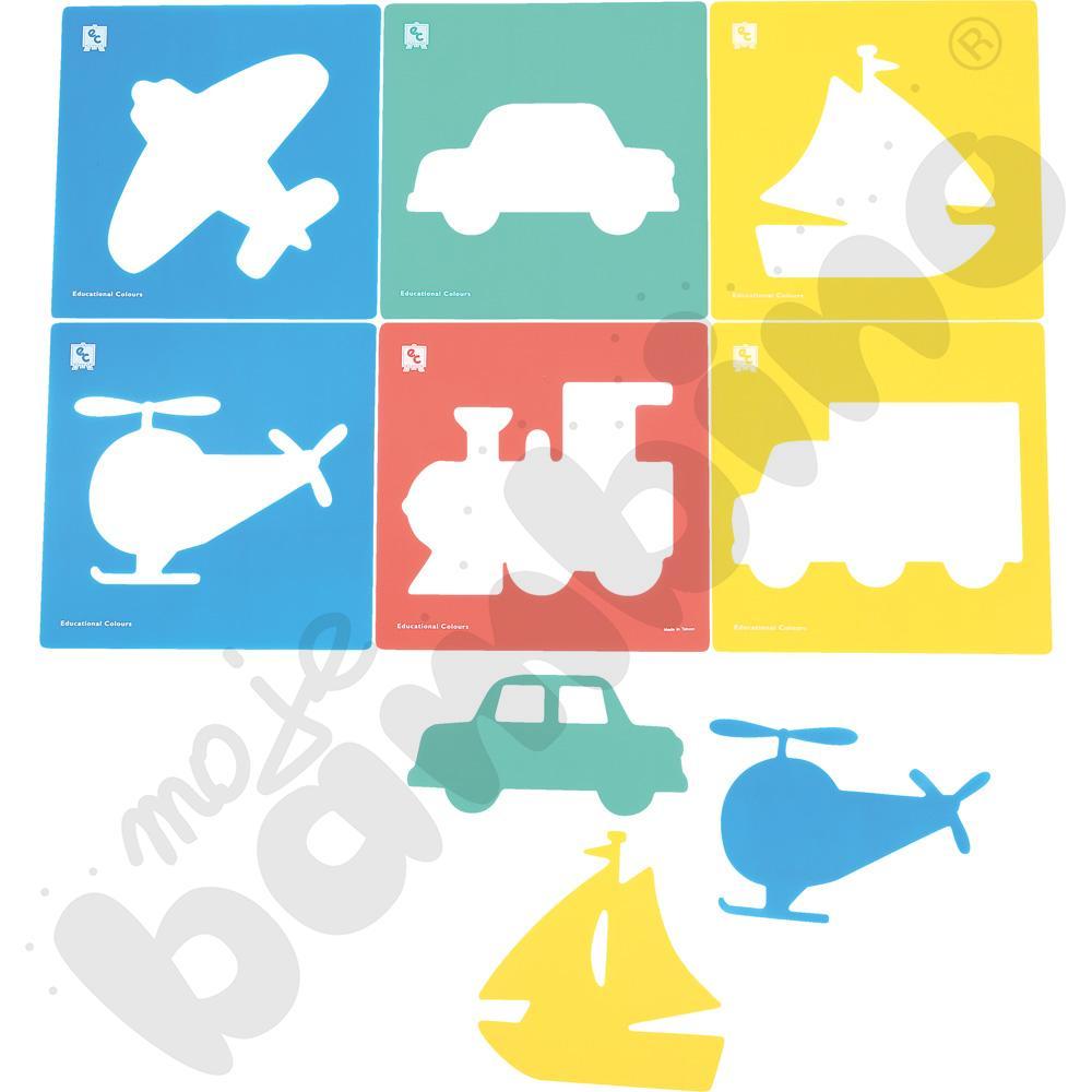 Szablony - pojazdy