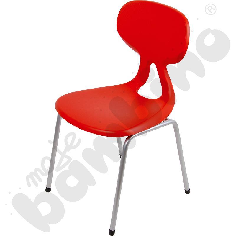 Krzesło Colores rozm. 4 czerwone