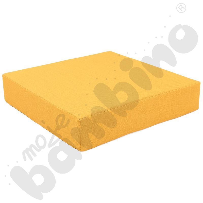 Materac Quadro 1 żółty, wys. 15 cm