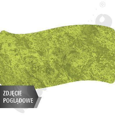 Cichy stół falisty duży, 140 x 72 cm, zaokrąglone narożniki, rozm. 2 - zielony