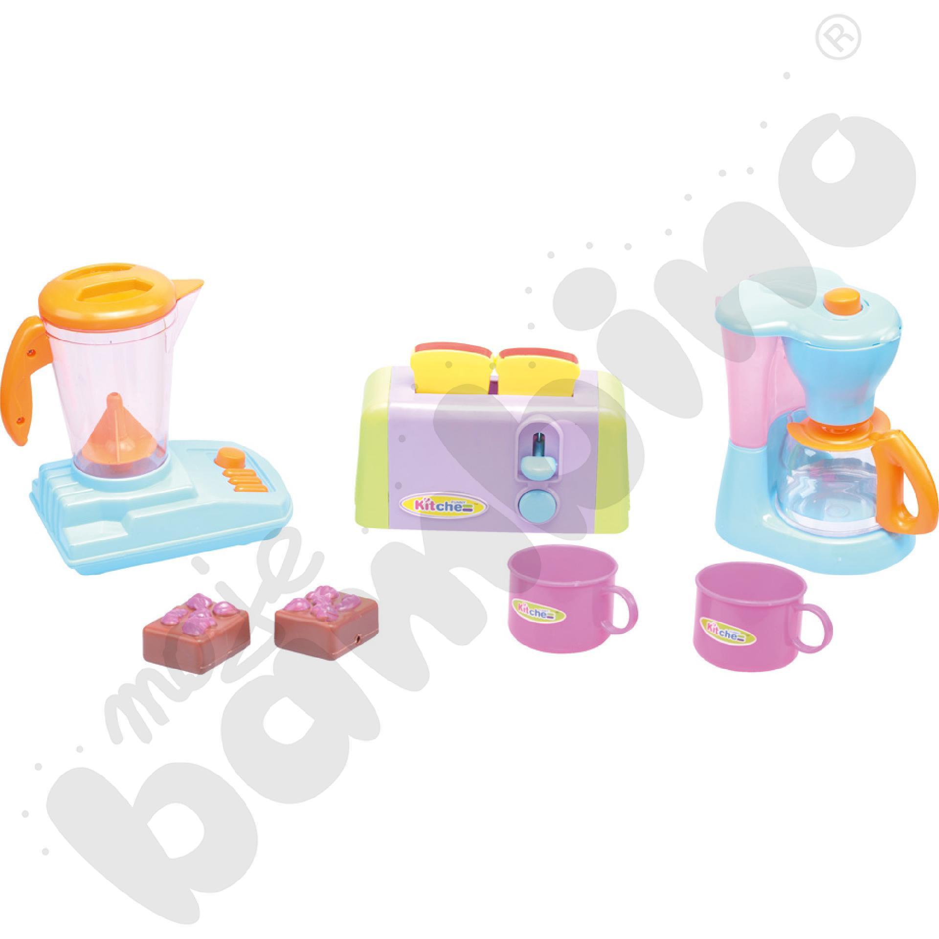 Mini kuchnia - zestaw śniadaniowy