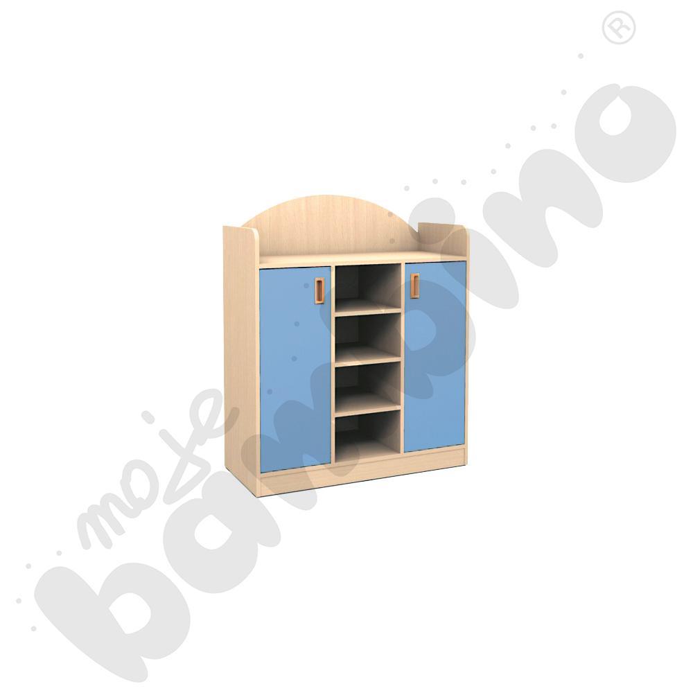 SANLANDIA PLUS szafka z 3 półkami w środkowej części