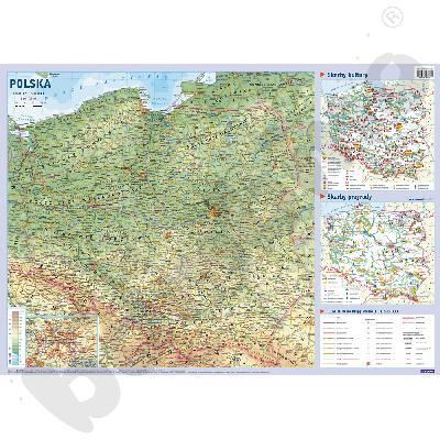 Polska - mapa...