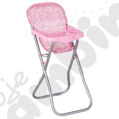 Krzesełko do karmienia lalek