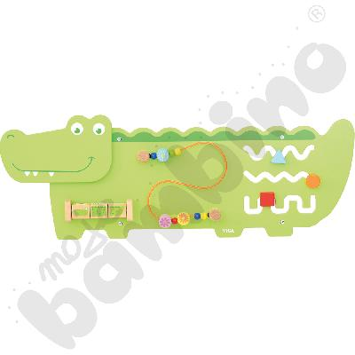 Tabliczka ścienna - krokodyl