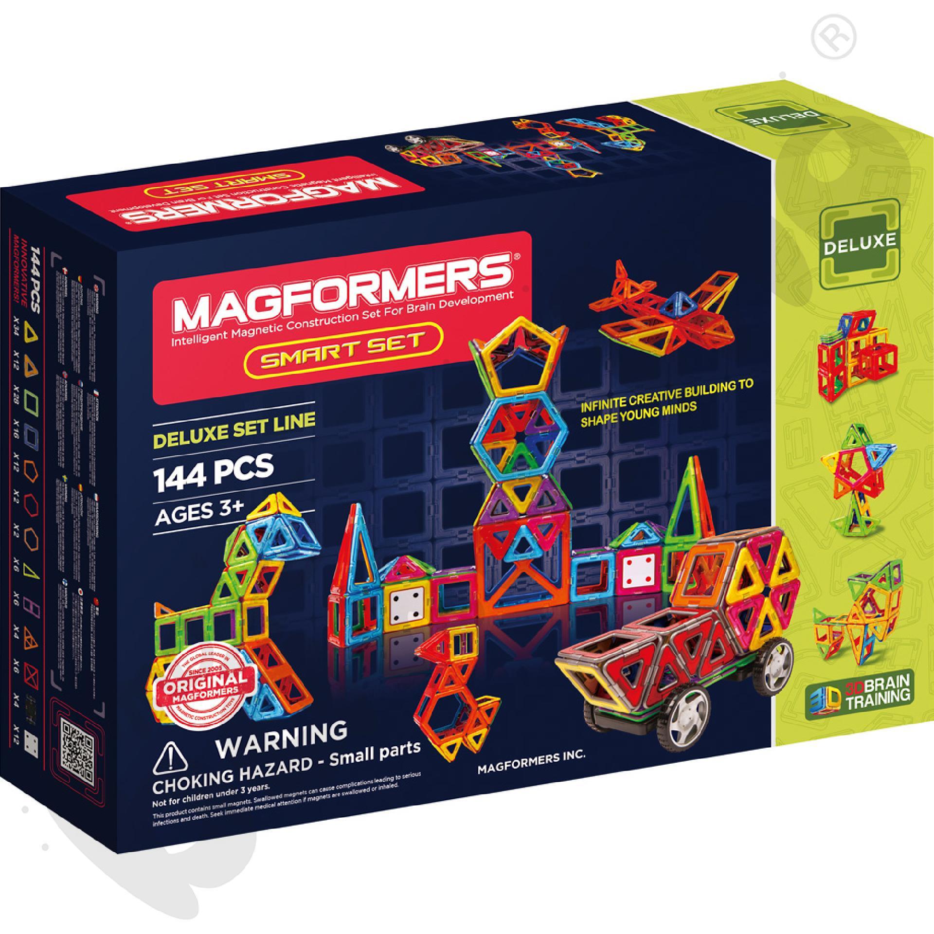 Magformers Smart, 144 el.