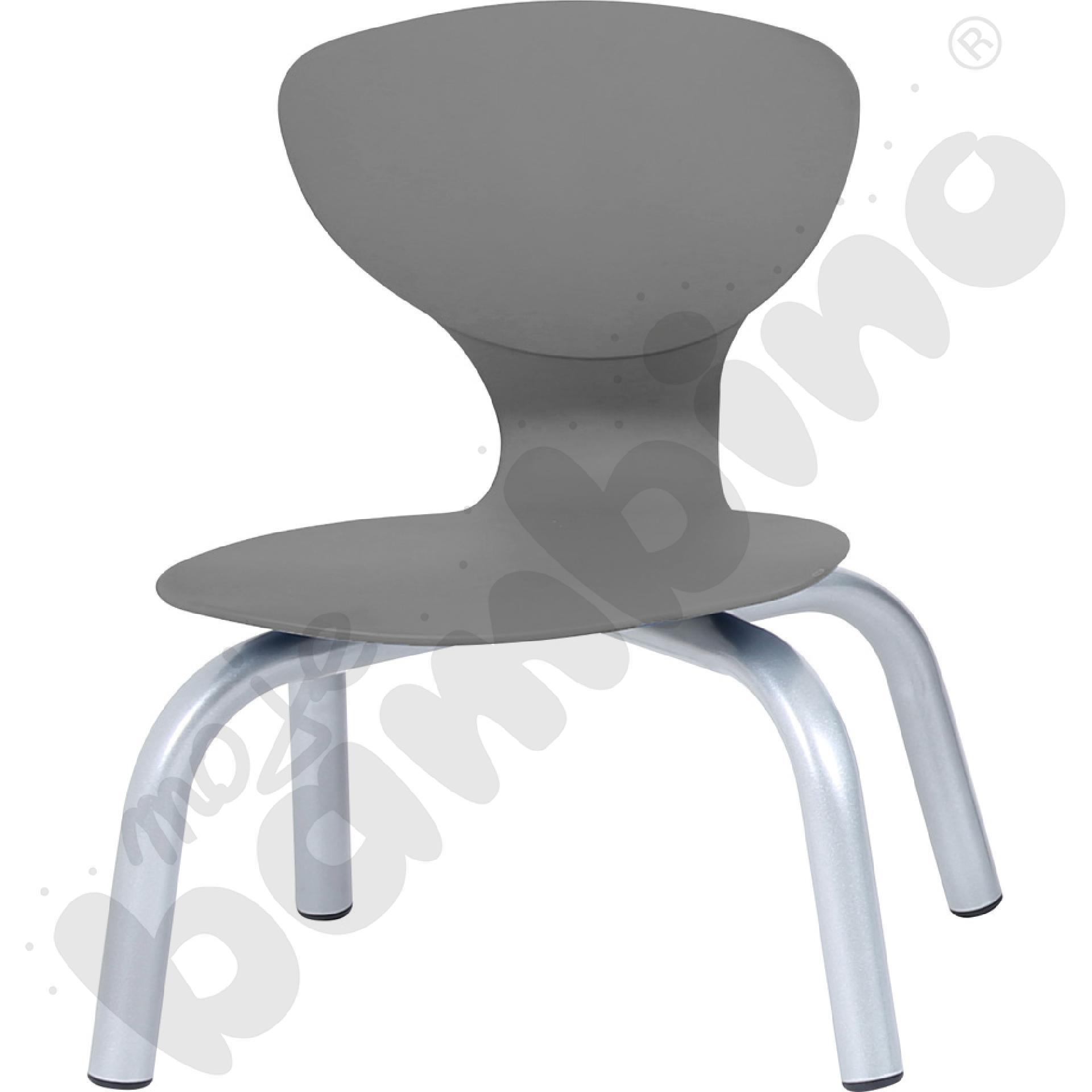 Krzesło Flexi szare rozm. 1