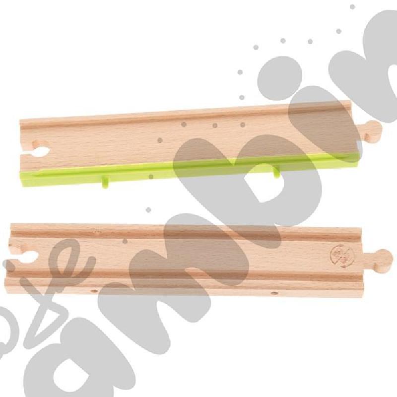 Drewniane tory - uzupełnienie 19, podwójne tory