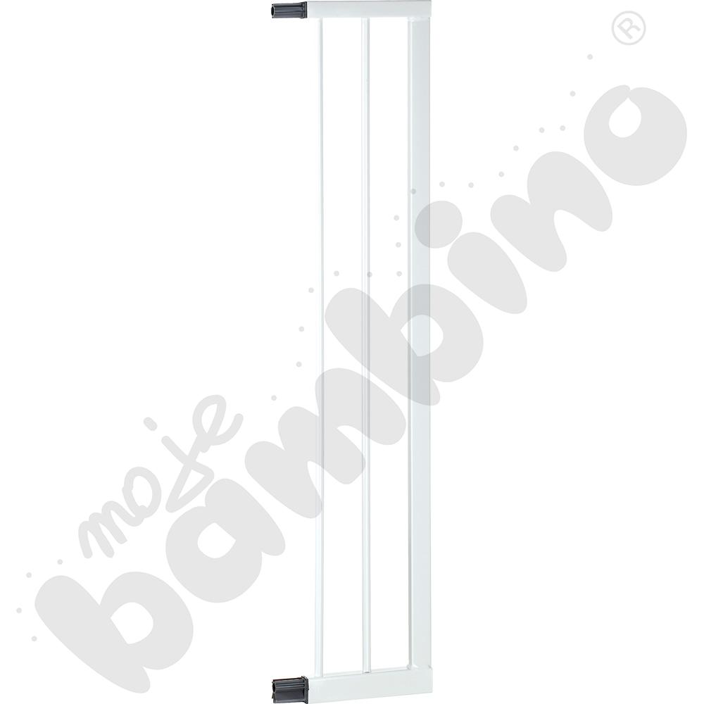 Przedłużka do  bramki, szer. 16 cm, biała