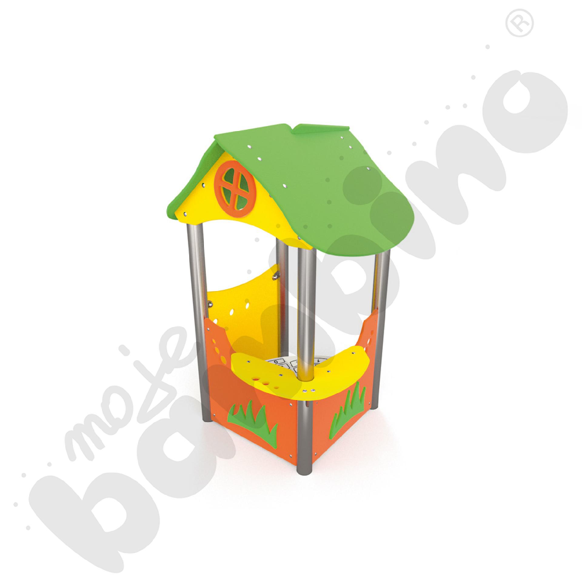 Domek malucha insGraf- żółty