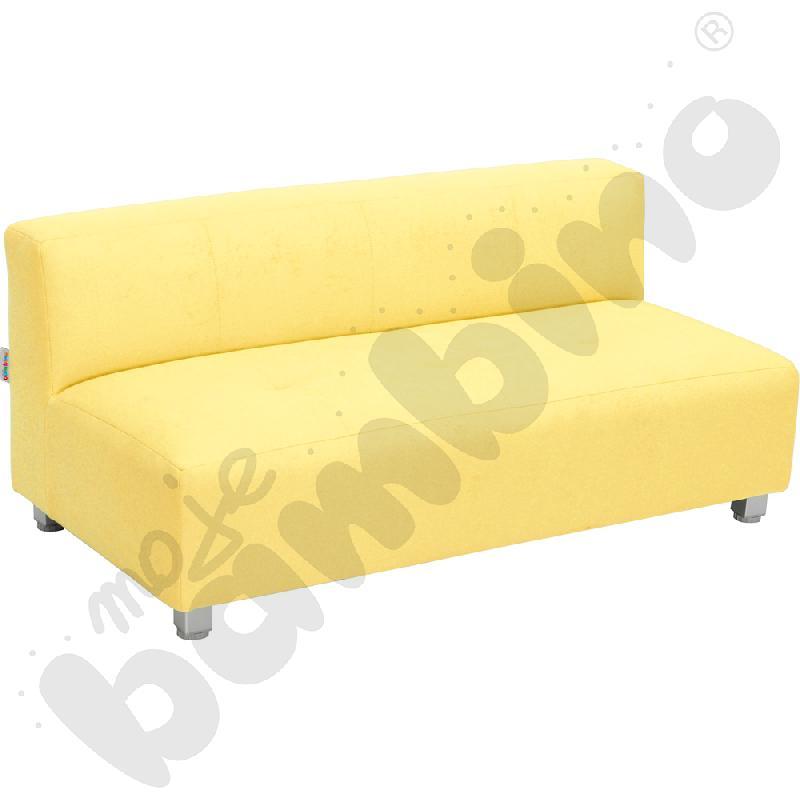 Kanapa duża - żółta wys. 25 cm