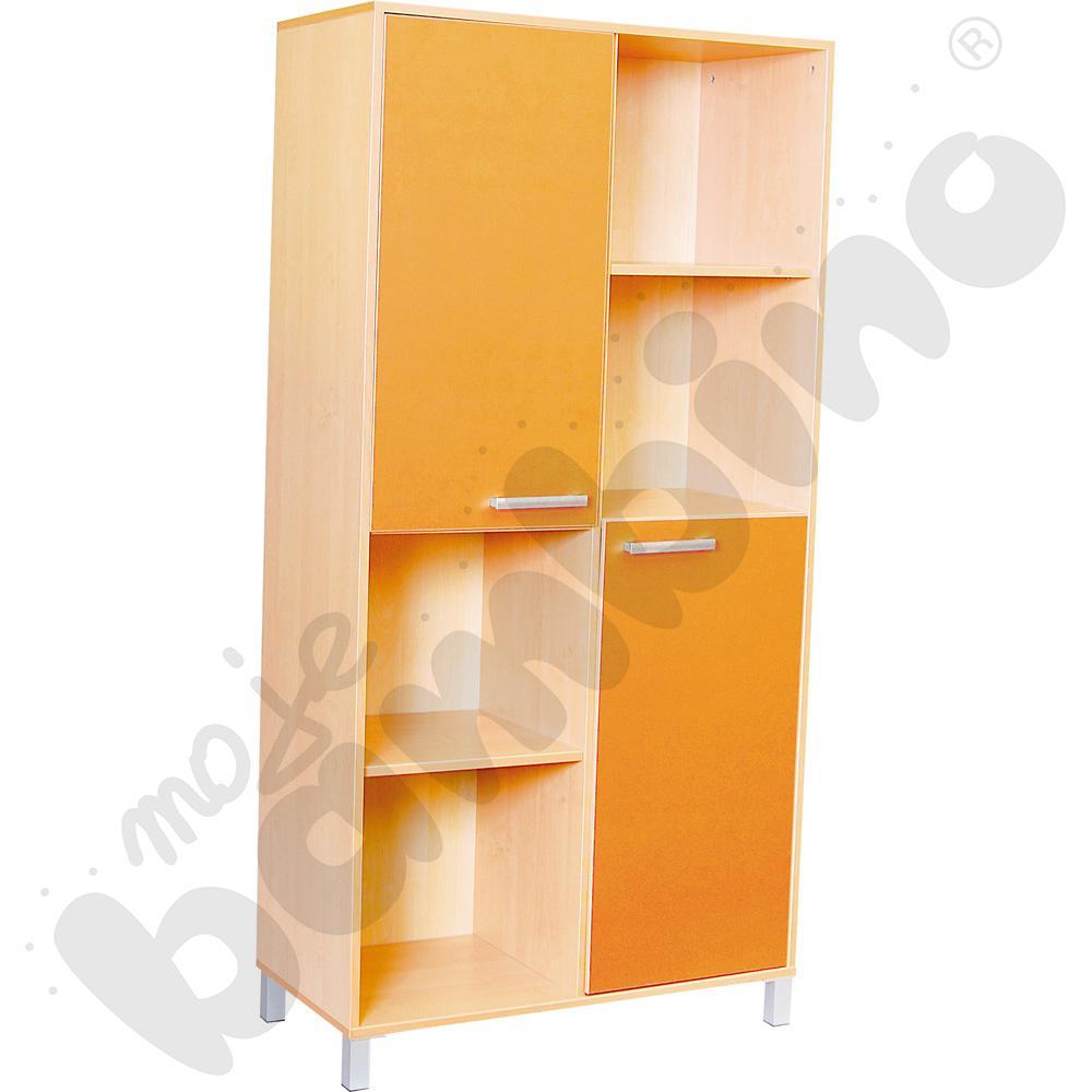 Szafa wysoka Premium max - pomarańczowa