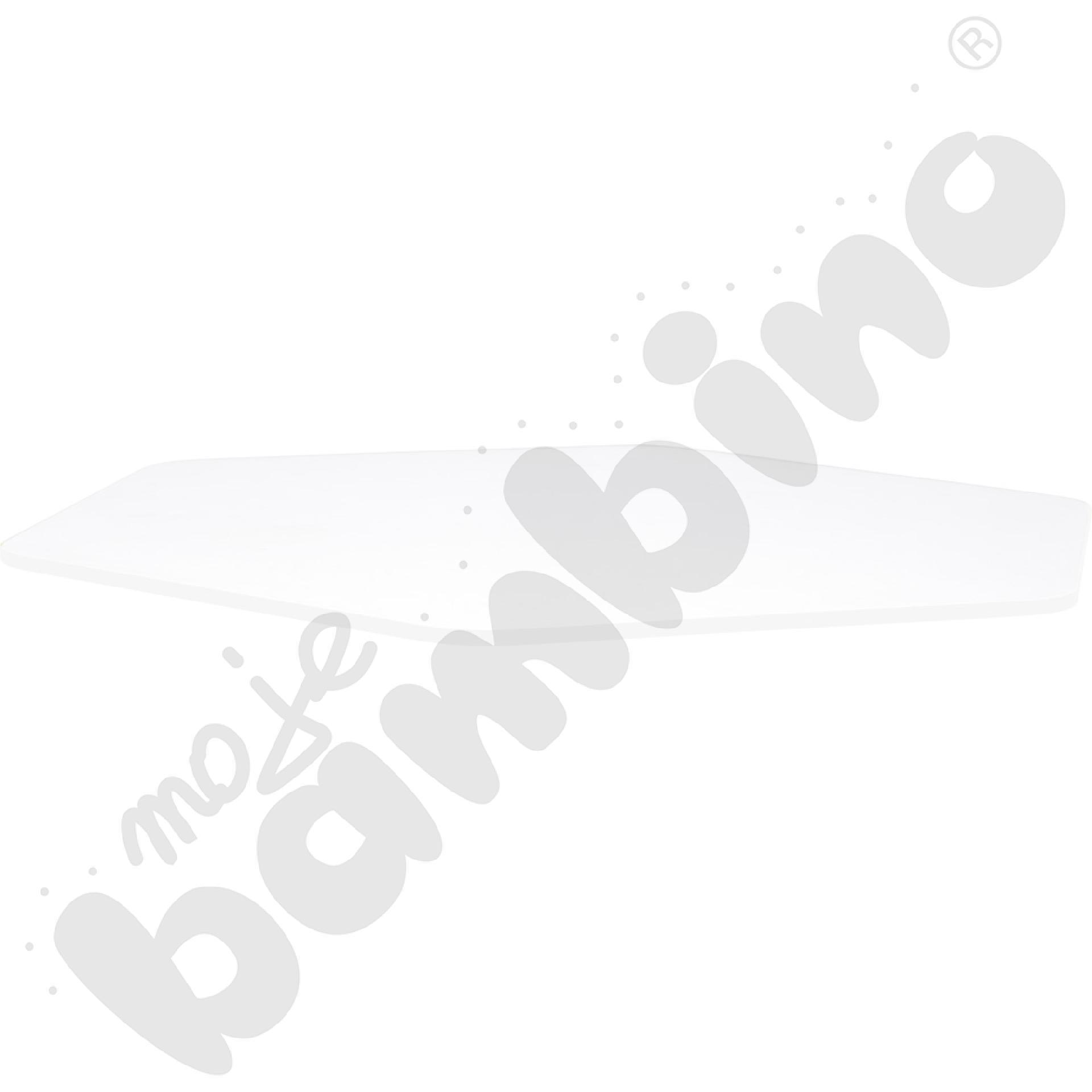 Blat Quadro biały sześciokątny, białe obrzeże