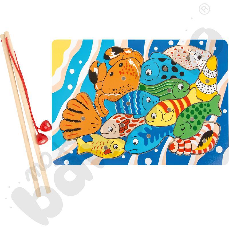 Magnetyczna układanka - rybki