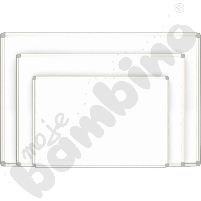Biała tablica magnetyczna wisząca wym. 120 x 90 cm