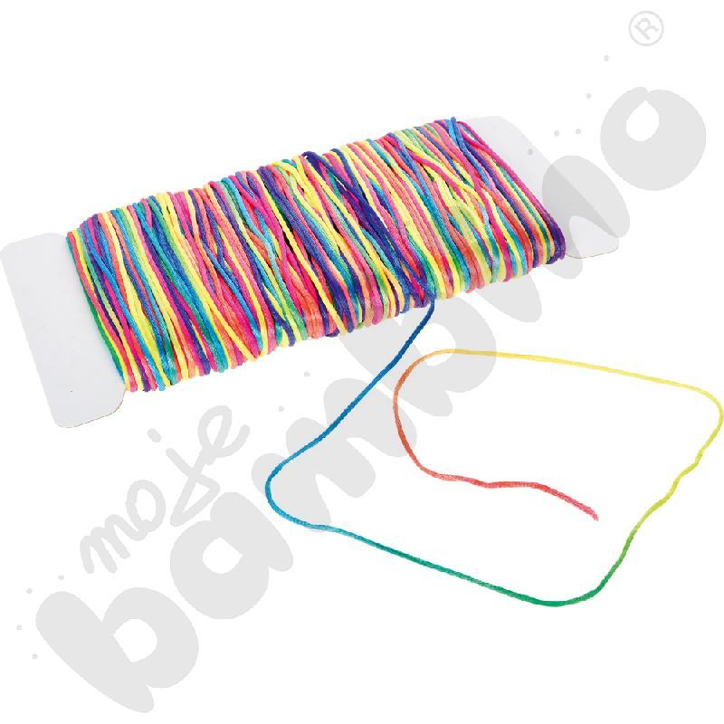 Tęczowy sznurek