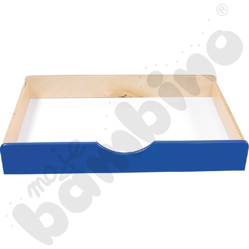 Szuflada drewniana BIS - niebieska
