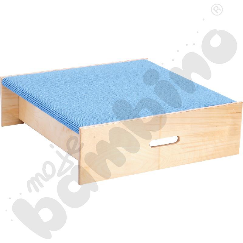 Podest kwadrat - wys. 20 cm jasnoniebieski