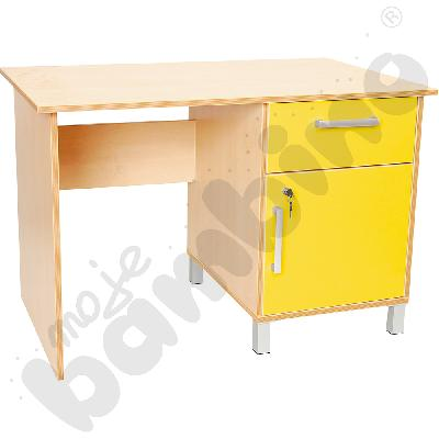 Biurko Premium żółte