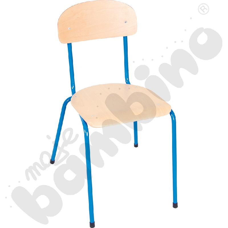 Krzesło Bambino rozm. 6 niebieskie
