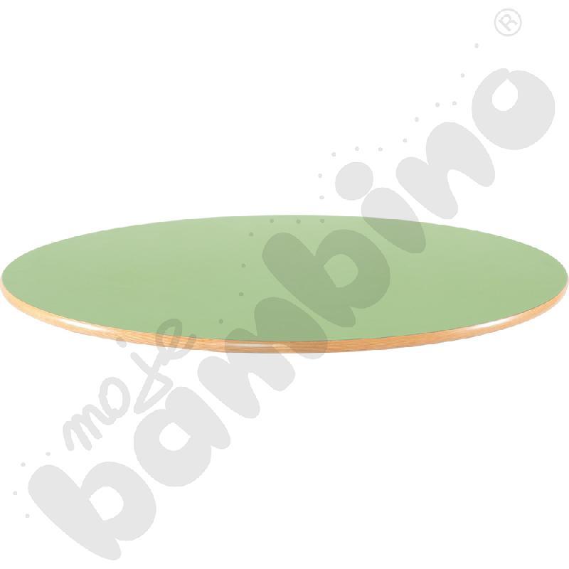 Blat Flexi okrągły - zielony