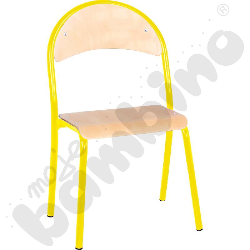 Krzesło P rozm. 2 żółte