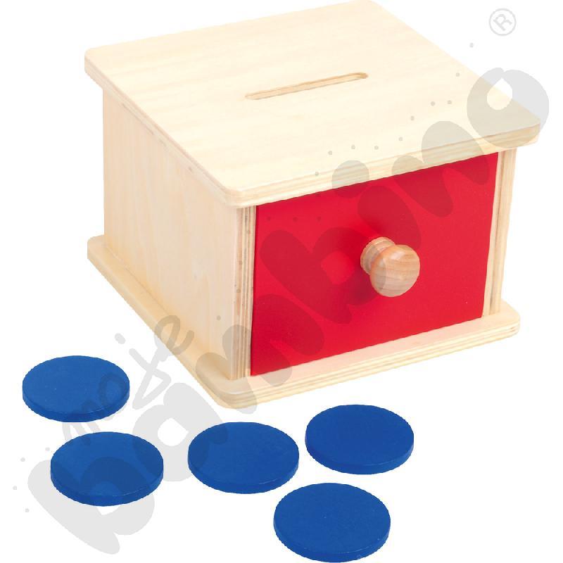 Pudełko do sortowania żetonów