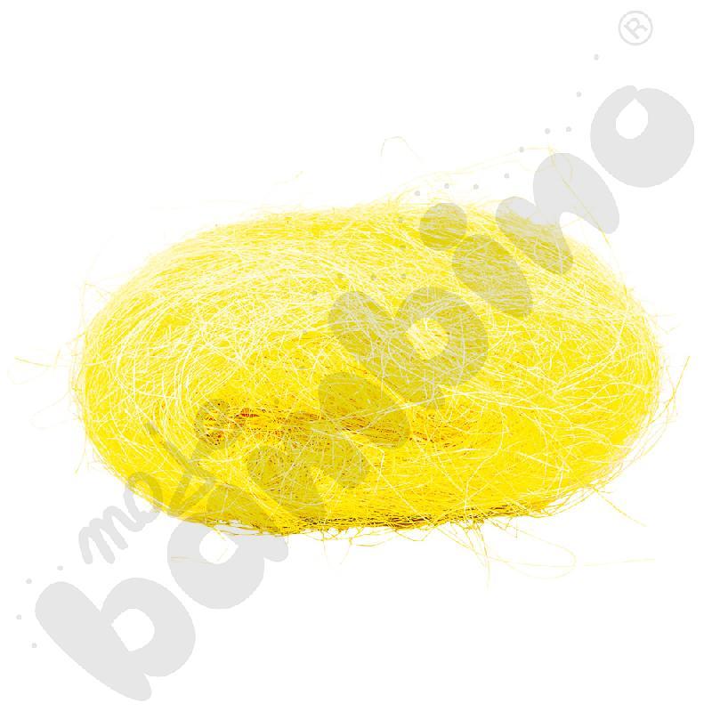 Sizal w motku żółty