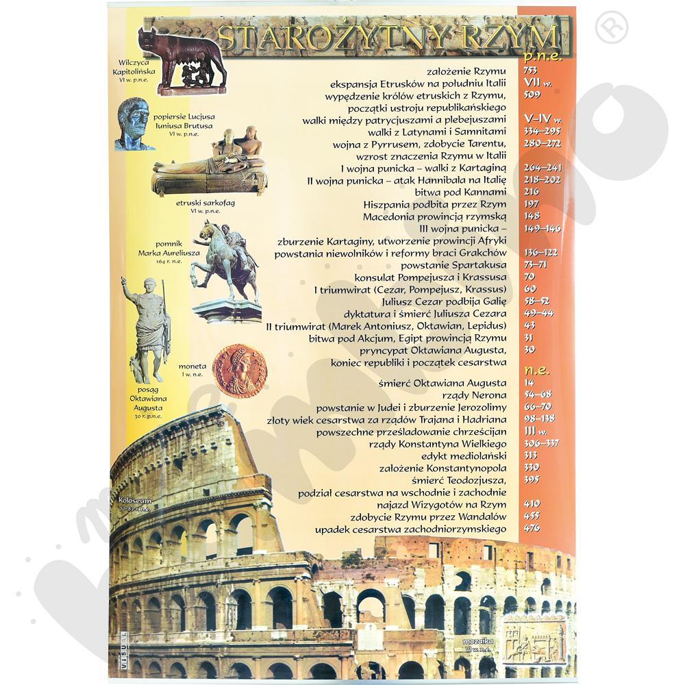 Plansza dydaktyczna - Starożytny Rzym