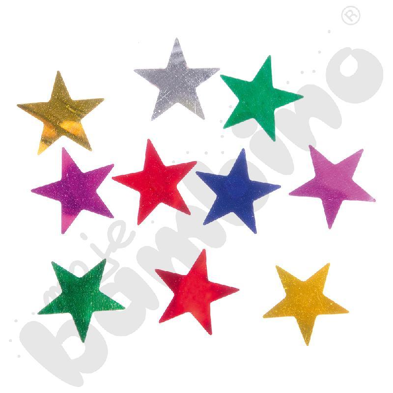 Konfetti duże gwiazdki