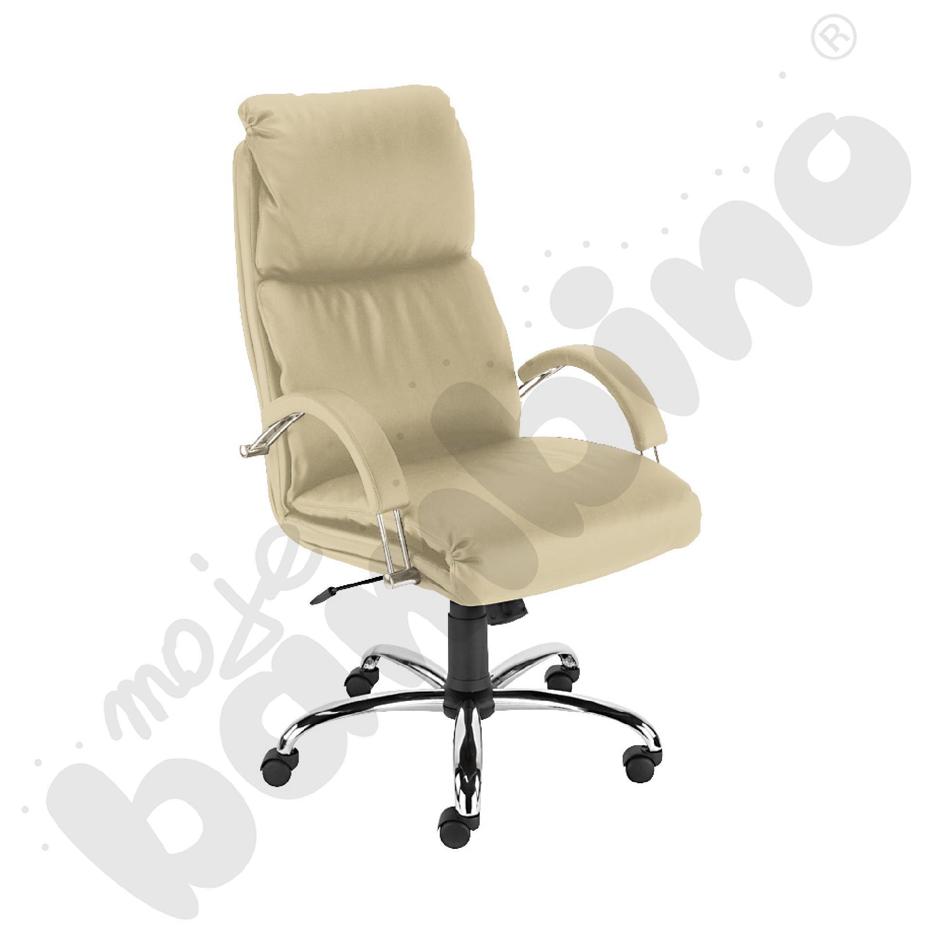 Krzesło Nadir extra kawa z mlekiem
